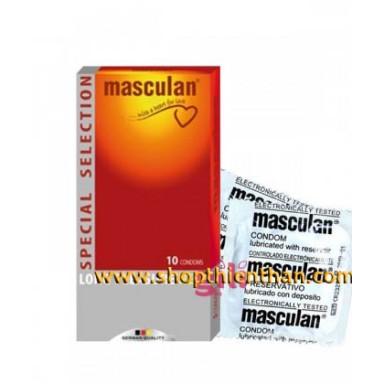 Bao cao su kéo dài quan hệ Masculan 5 in 1