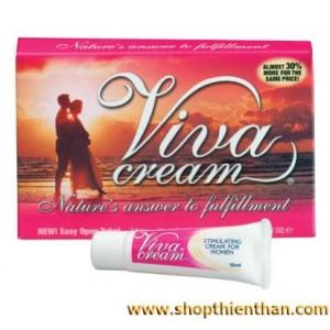 Gel bôi trơn kích thích nữ ViVa Cream