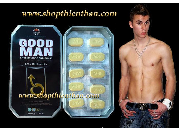 Thuốc trị cường dương loại mạnh Good man