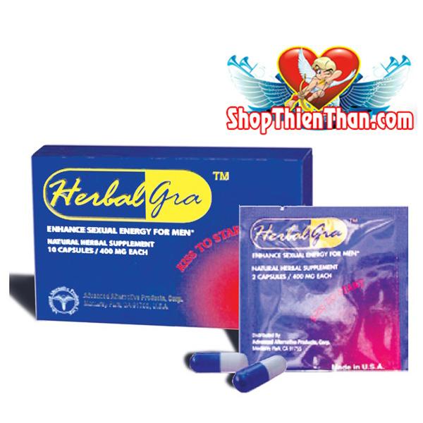 Trị yếu sinh lý nam với thuốc Herbalgra For Men